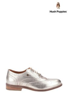 Hush Puppies Gold Natalie Lace Shoes