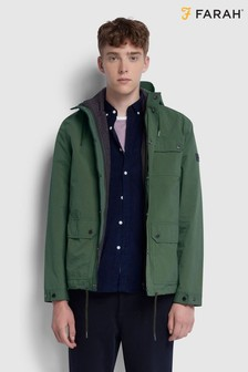 Farah Moss Green Blackpool 2 In 1 Parka Jacket