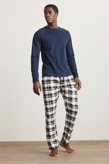 Brushed Woven Pyjama Set