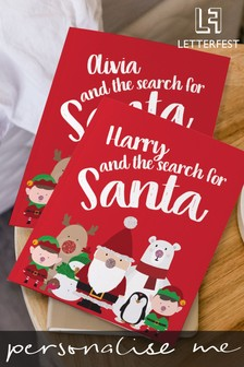 Personalised Search For Santa Story Book by Letterfest