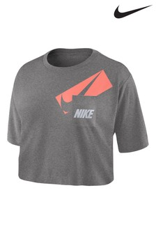 Nike DriFIT Graphic Training Crop T-Shirt
