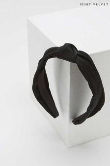 Mint Velvet Black Headband