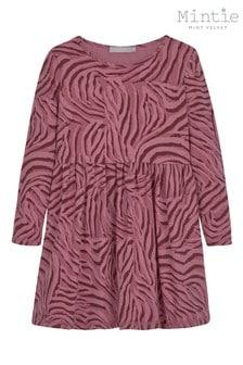 Mintie by Mint Velvet Animal Red Zebra Print Dress