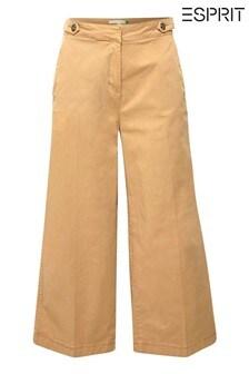 Esprit Brown Culotte Pants