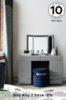Sloane Collection Luxe Storage Dressing Table / Desk