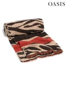 Oasis Animal Tiger Stripe Scarf