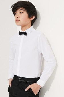 Long Sleeve Shirt And Bow Tie (3-16yrs)