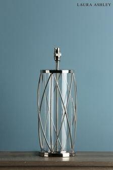 Chrome Beckworth Polished Lattice Large Table Lamp Base