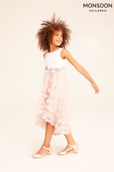 Monsoon Pink Ianthe Dress