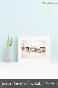"Personalised Polaroid Framed Print 8x6"" by Photo Panda"