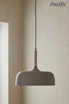 Anke Matt Domed Metal Pendant by Pacific Lighting