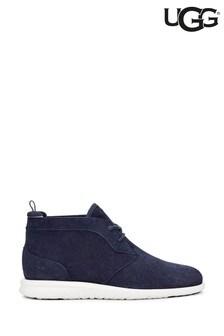 UGG® Navy Suede Chukka Boots