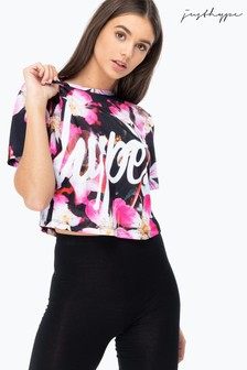 Hype. These Flowers Women's Crop T-Shirt