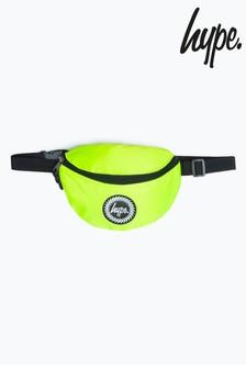 Hype. Lime Neon Badge Bumbag