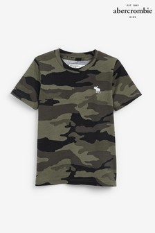 Abercrombie & Fitch Camouflage Pattern T-Shirt