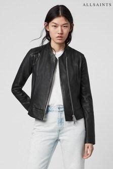 AllSaints Black Jae Jacket