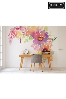 Eighty Two Summer Floral Wall Mural