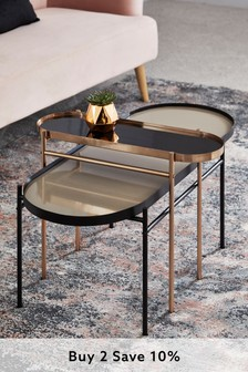 Set of 2 Pill Nest Of Tables