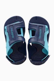 Havaianas® Blue Velcro Sandal