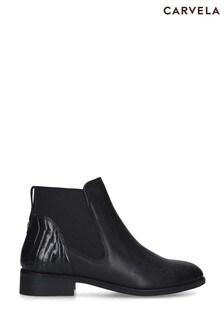 Carvela Black Stifle Boots