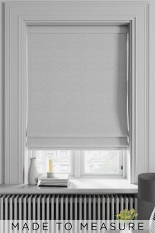 Noah Linen Cream Made To Measure Roman Blind