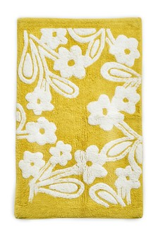 Floral Tufted Bath Mat