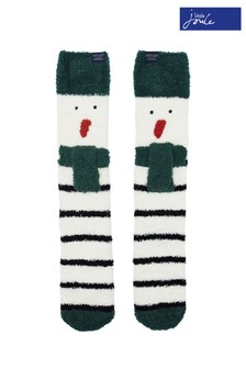 Joules Festive Fluffy Supersoft Socks