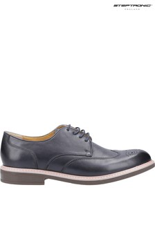 Steptronic Grey George Lace-Up Brogues