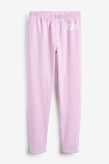 Gap Pink Logo Leggings