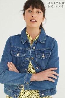 Oliver Bonas Blue Denim Jacket