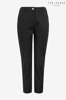 Ted Baker Black Piping Detail Trousers
