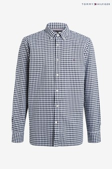 Tommy Hilfiger Blue Classic Gingham Shirt