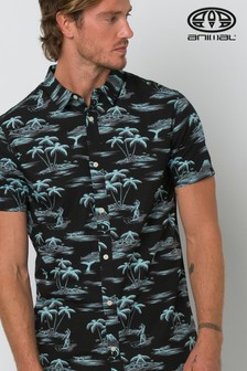 Animal Black Flanagan Short Sleeve Shirt