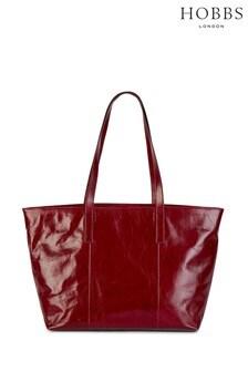 Hobbs Red Gable Tote Bag