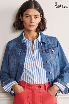 Boden Blue Authentic Denim Jacket