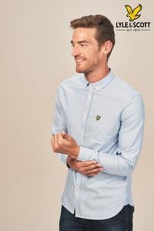 חולצת אוקספורד של <bdo dir=&quot;ltr&quot;>Lyle & Scott</bdo>