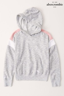 Abercrombie & Fitch Grey/Pink Hoody
