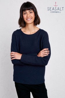 Seasalt Petite Fruity II Dark Night Jumper