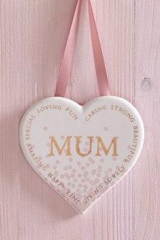 Mum Ceramic Hanging Decoration