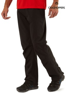 Craghoppers Black Stefan Trousers