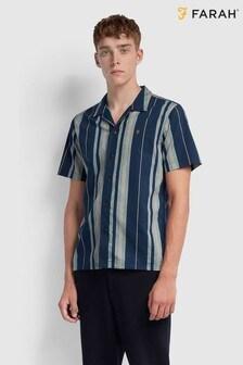 Farah Laredo Striped Resort Style Shirt