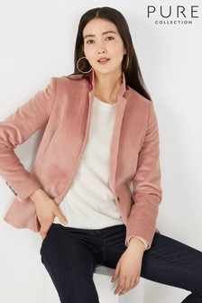 Pure Collection Pink Tailored Blazer