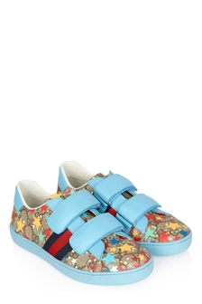 GUCCI Kids Kids Blue Trainers