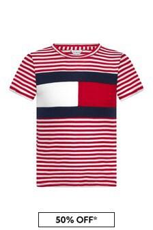 Tommy Hilfiger Girls Red T-Shirt