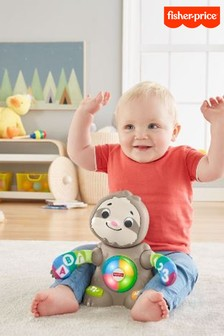 Fisher-Price Linkimals Smooth Moves Sloth Baby Toy With Music And Lights