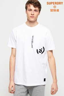 Superdry Black Label Edition Boxy Pocket T-Shirt