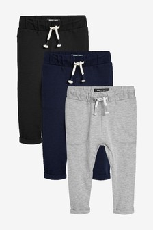3 Pack Lightweight Joggers (3mths-7yrs)