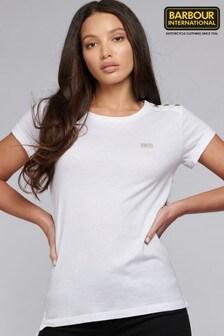 Barbour® International Metallic Mini Logo Baltimore T-Shirt