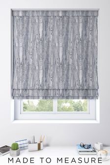 Roberta Sky Blue Made To Measure Roman Blind