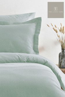 Waffle Seafoam Bedset by The Linen Yard